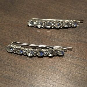 Rhinestone Barrette set Perfect for a special day